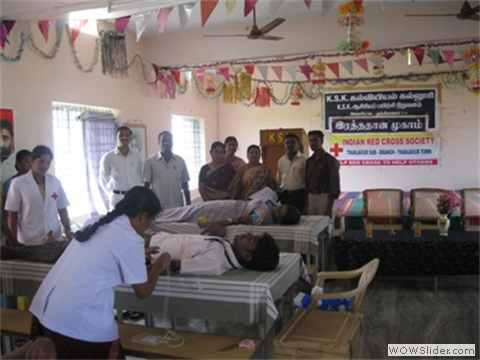 BLOOD DONATION CAMPAIGGN