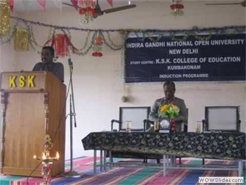 IGNOU INDUCTION PROGRAMME