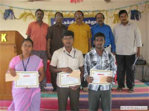 LEPROSY COMPETITION PRIZE WINNERS